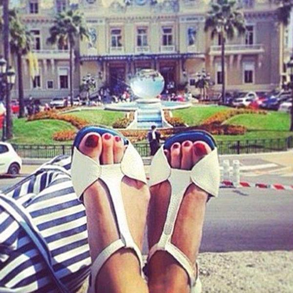 Daily Flat Buckle  Open Toe Sandals