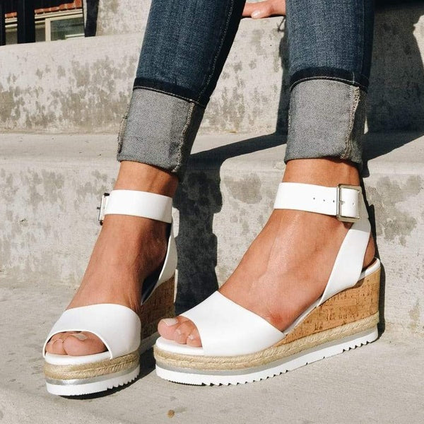 Fashion Platform Wedge Sandals