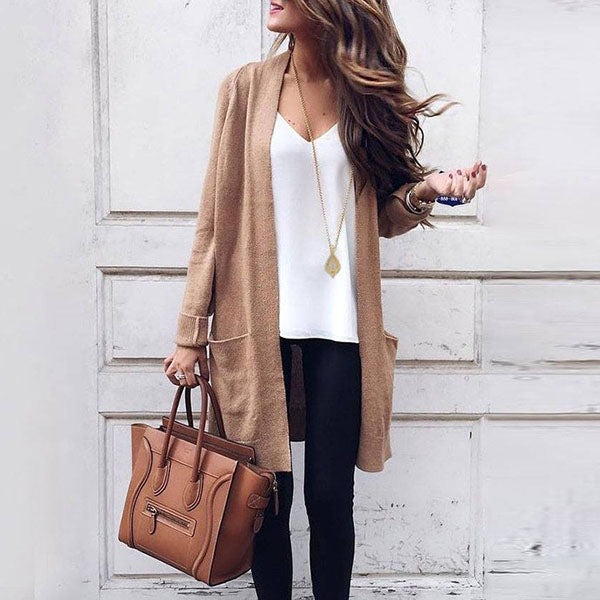 Daily Fashion Long Sleeve Coats
