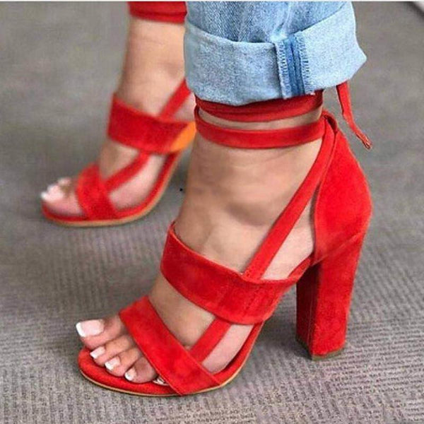 New Women's Bandage Sandals