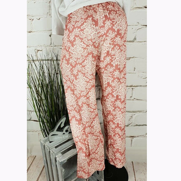 Printed Large Size Pants
