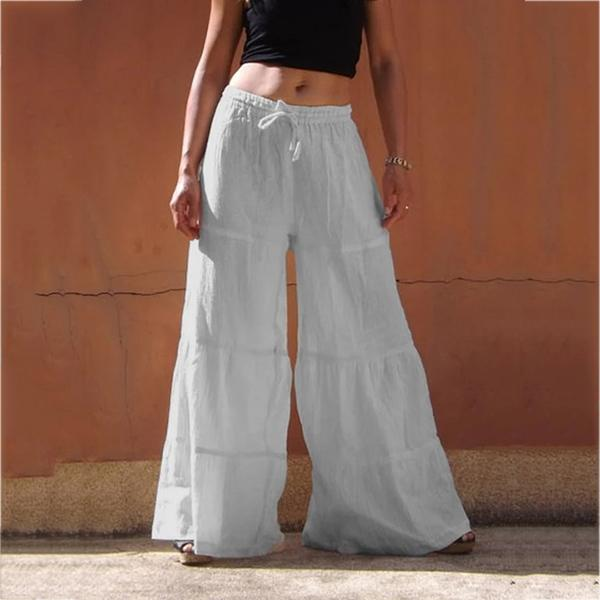 Outdoor Casual Plus Size Solid Pant