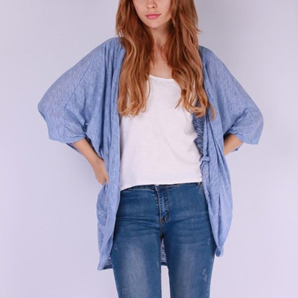 Casual Loose Warm Bat Sleeve Coats