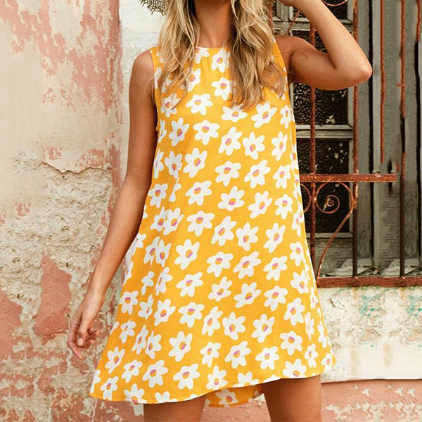 Casual Printed Vacation Dress