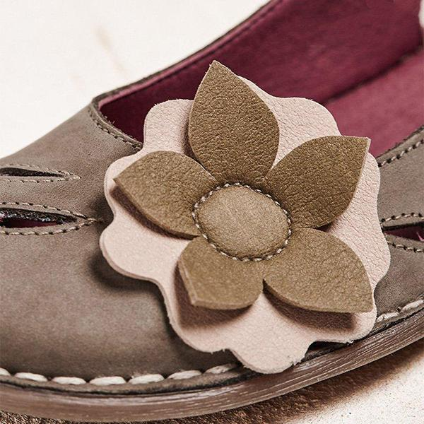 Women Fashion Flower Sandals