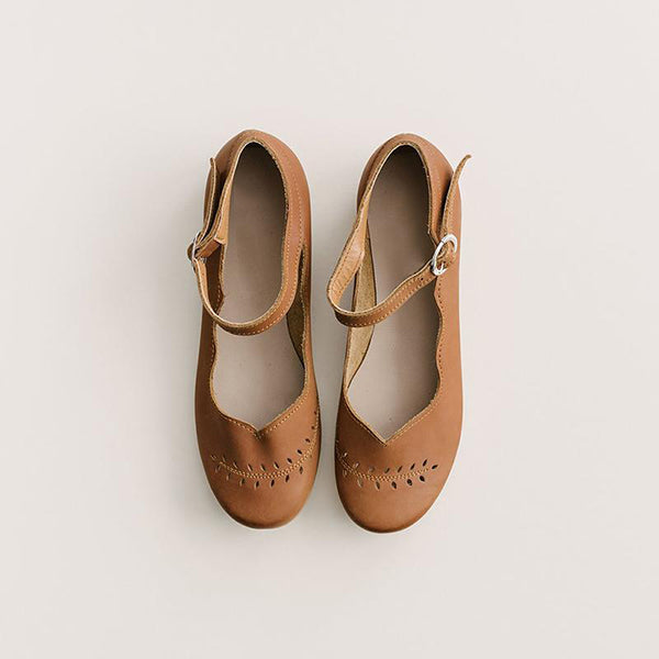 Vintage Hollow Comfortable Flat Sandals