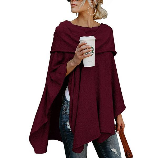Women Off Shoulder Asymmetric Hem Plain Blouses
