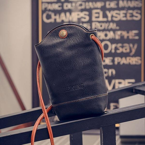 Women Cross-body Shoulder Little Bucket Bag