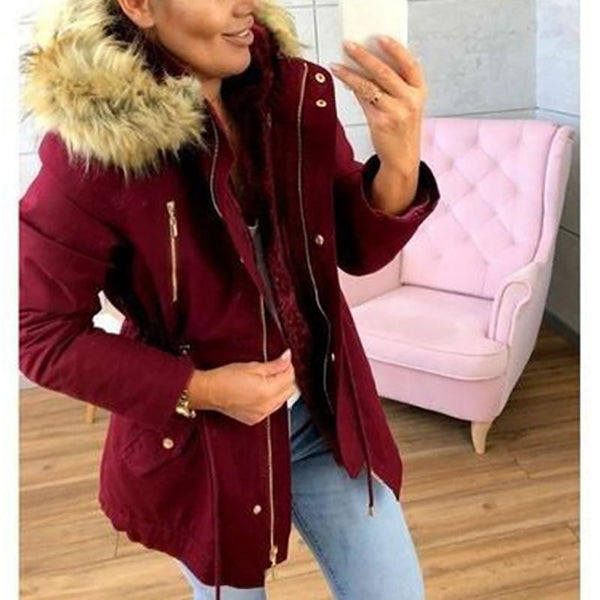 Hooded Women Winter Jacket