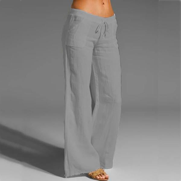 Casual Sweet Solid Color  Pants