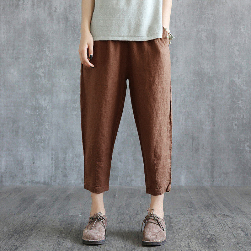 Women's Fashion Loose Linen Pants