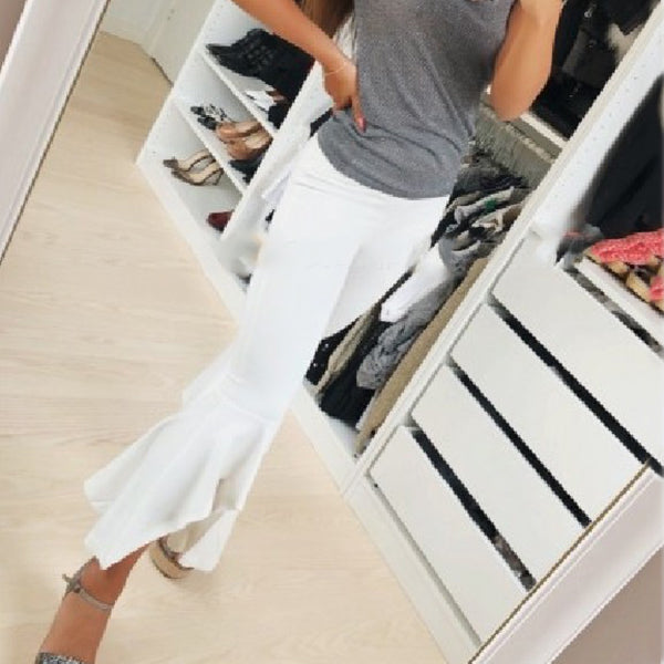 Casual Women's Irregular Trousers Pants
