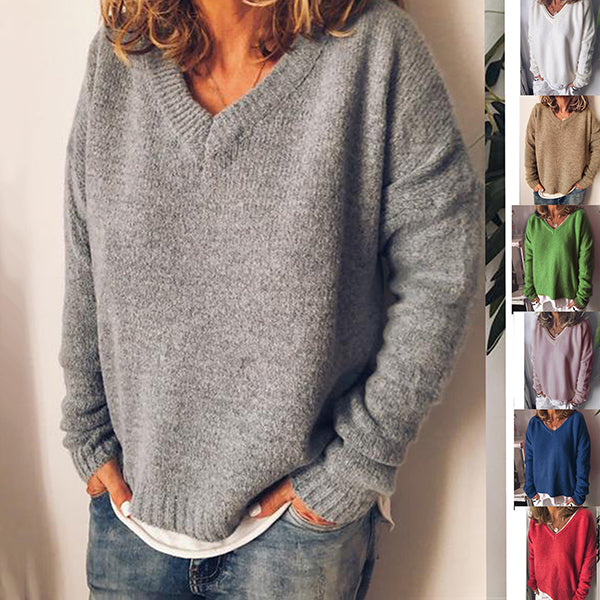 Women Oversize Fashion Pullover Sweaters