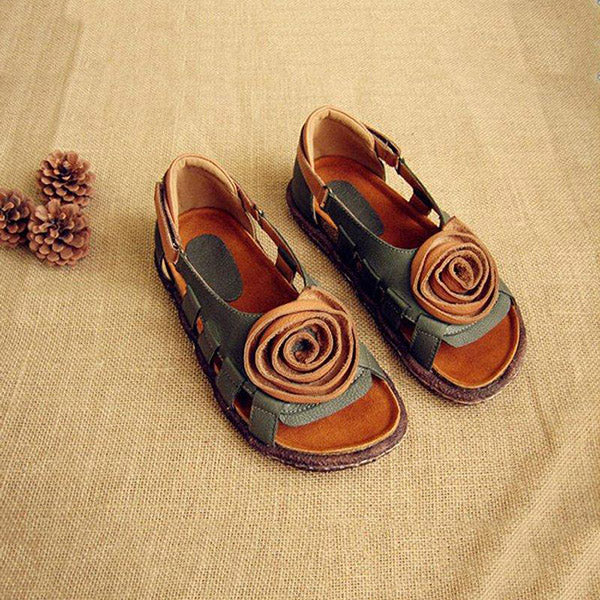 Lovely Casual Flat Breathable Sandals