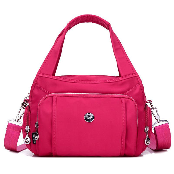 Fashion Zipper Women's Handbag
