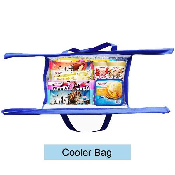4pcs/Set Thicken Cart Trolley Supermarket Shopping Bags