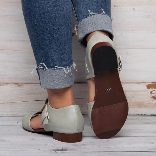 Plus Size Casual Flat Sandals