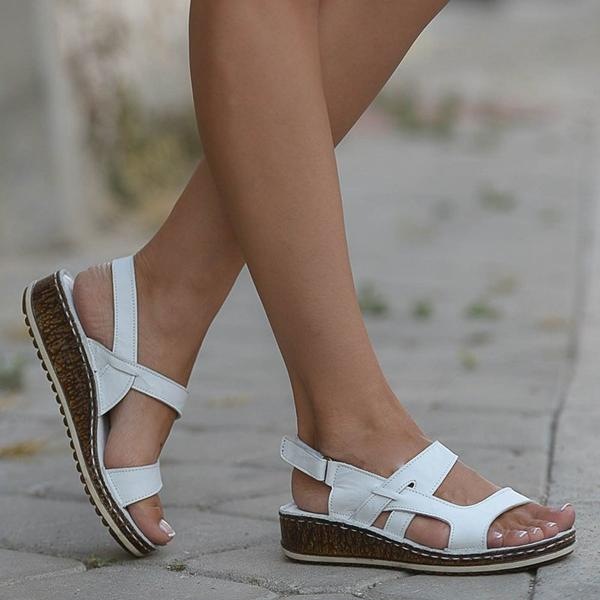 Vintage Casual Wedge Sandals