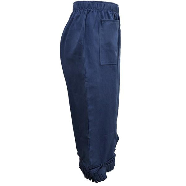 Harlan Solid Color Elastic Pants