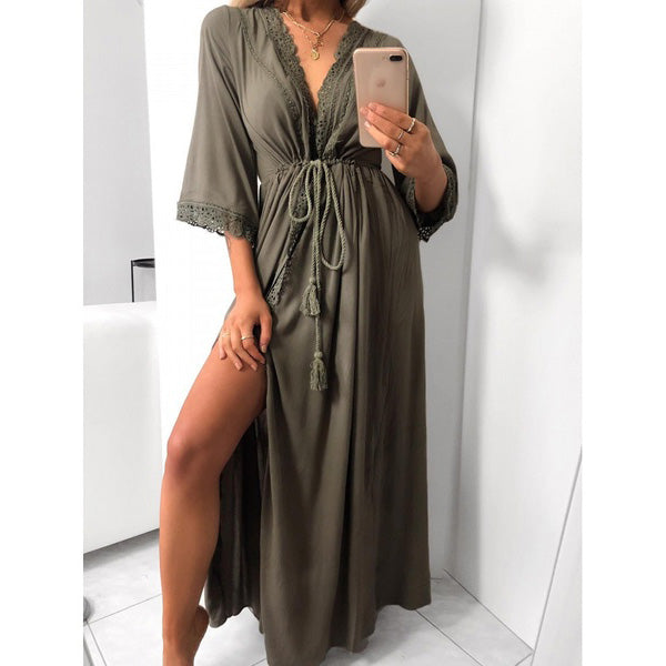 Ladies Loose Bohemian Beach Dresses