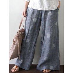 Casual Loose Polka Dot Pants