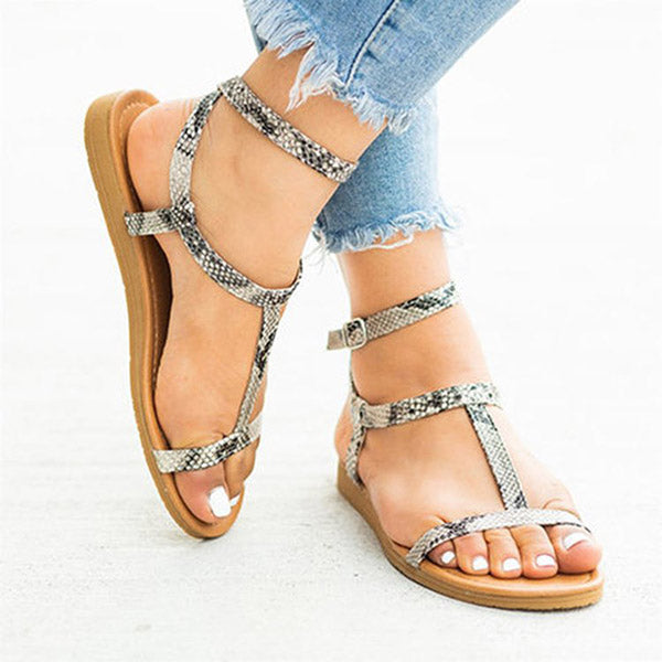 Simple Casual Flat Sandals
