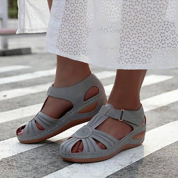 Casual Comfy Round Head Thick Sandals