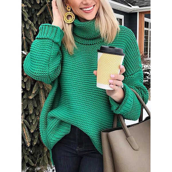 Women's Pullover Casual Long-sleeved Sweater