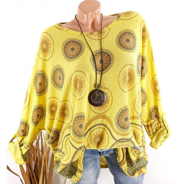 Long Sleeve Printed Summer T-Shirt