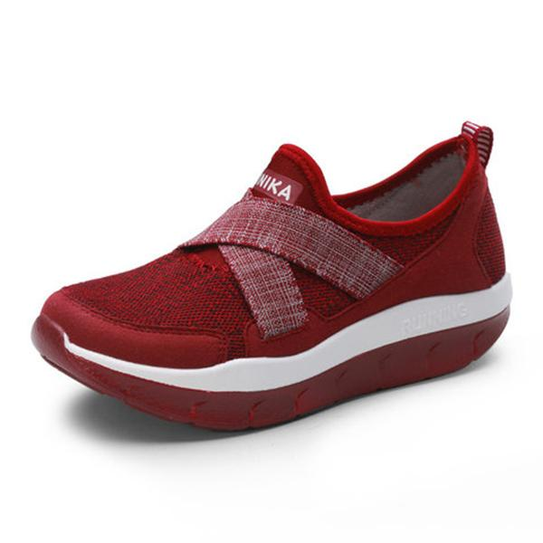 Shock Absorption Anti-Slip Elastic Band Sneakers
