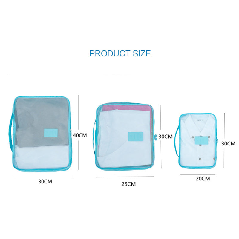 Luggage Packing Organizer Set (6pc)