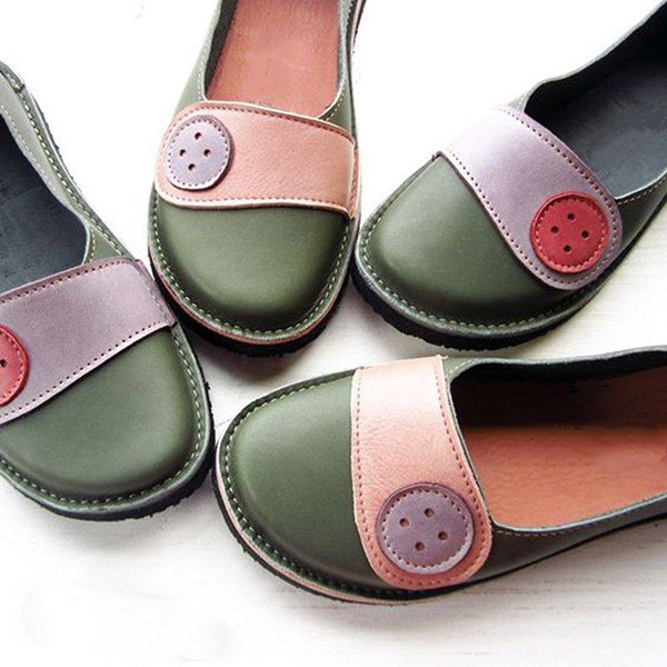Casual Comfortable Slip-On Flat Shoes