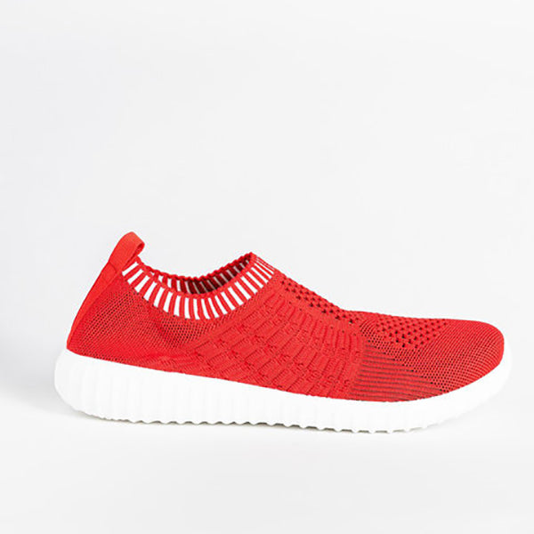 Solid Color Breathable Comfortable Sneaker