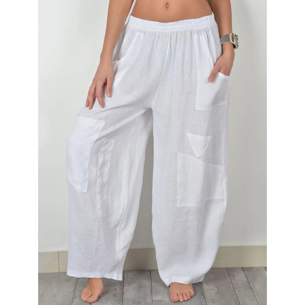 Straight Wide Leg Women Pants