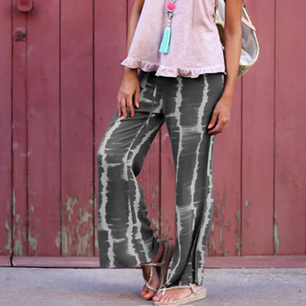 Stripe Comfortable Loose Pants