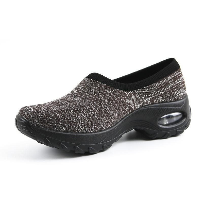 Women's Air Cushion Anti-Skid Fashion Heel Loafers