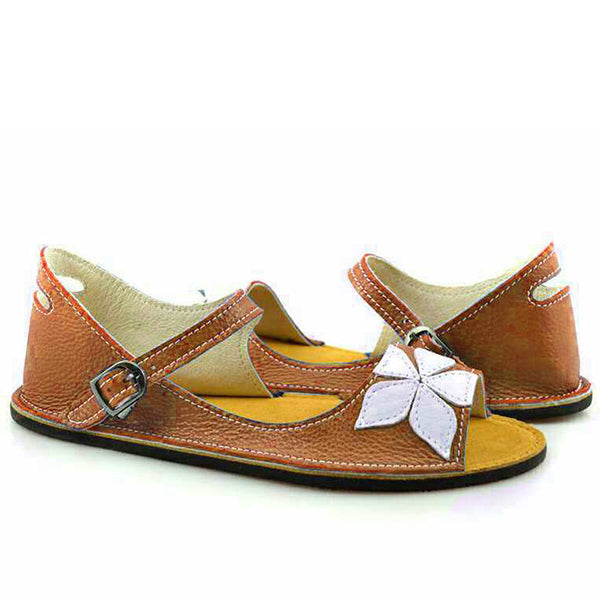 Flower Fish Toe Flat Sandals