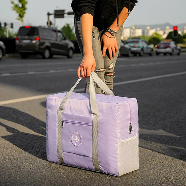 Fashion Waterproof Folding Storage Bag