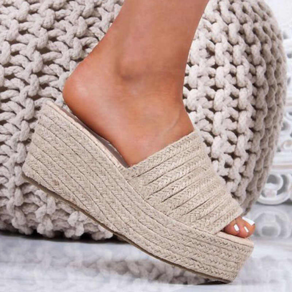 Platform Women Open Toe Wedges Sandals