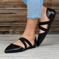 Casual Point Toe Flat Sandals