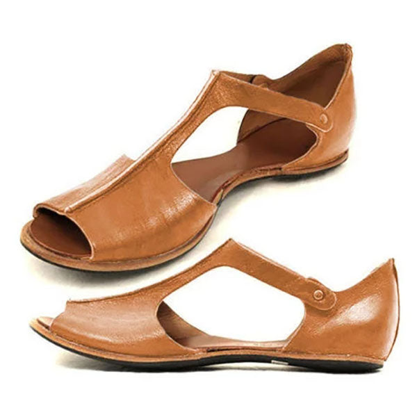 Casual Open Toe Flat Sandals
