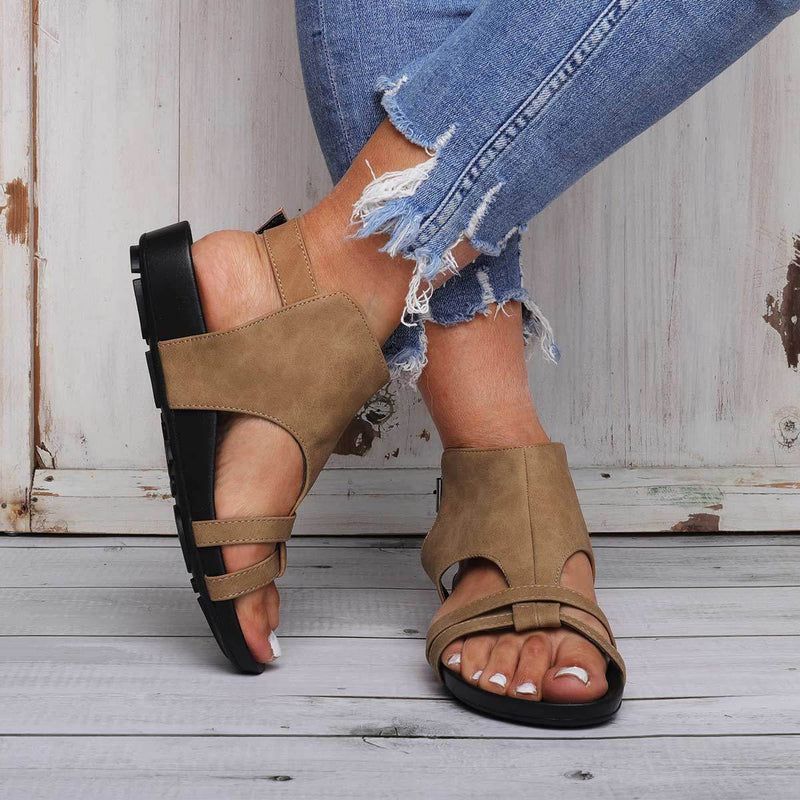 Comfy Sole Buckle Strap Beach Sandals