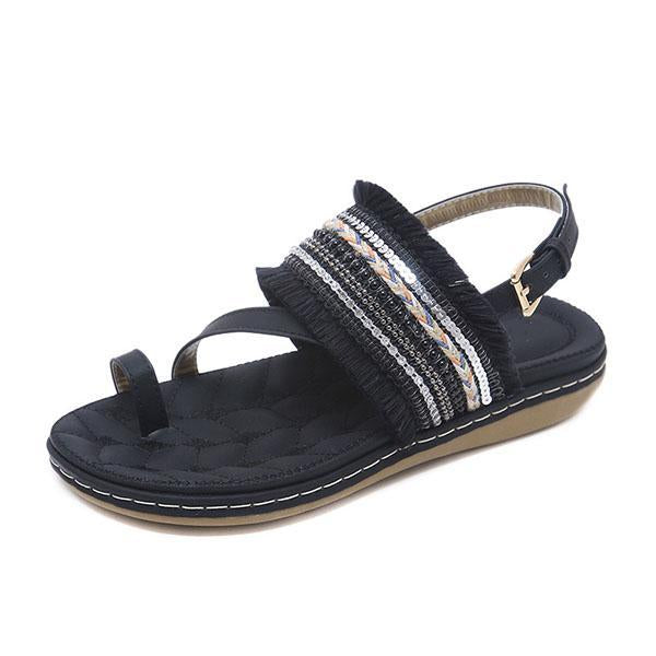 Fashion Casual Fringed Beach Sandals