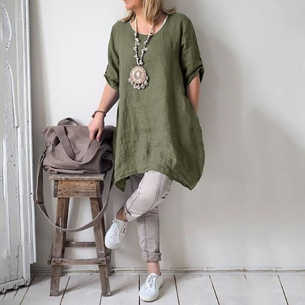 Casual Irregular Loose Fitting Shirts