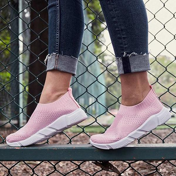 Casual Breathable Elastic Comfortable Sneakers