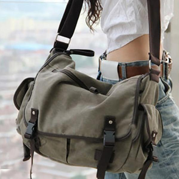 Casual Canvas Large Capacity Crossbody Bags