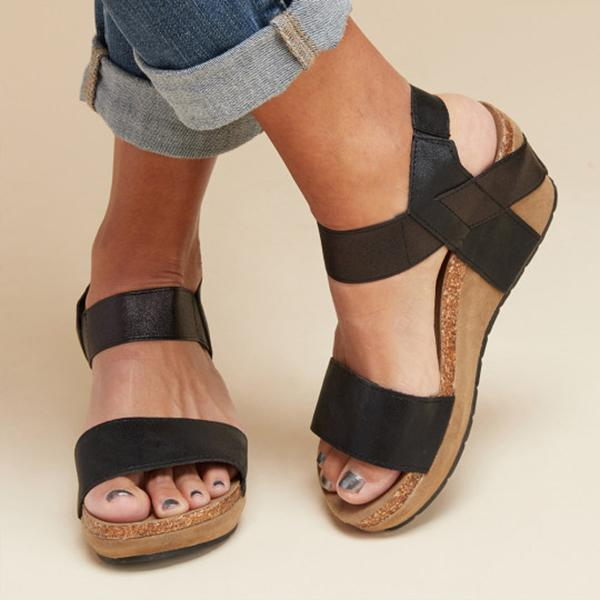 Summer Women Comfy Wedges Platform Sandals
