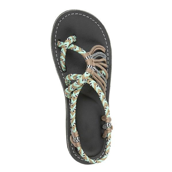 Jullymart Lace-up Beach Sandals