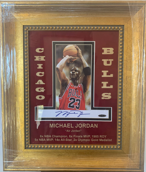 Michael Jordan Chicago Bulls autographed photo