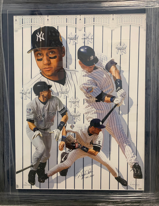 Limited Edition Derek Jeter Autographed Painting by Artist Danny Day